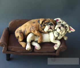 Bulldog Cuddlers