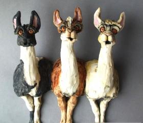 Wall Llamas