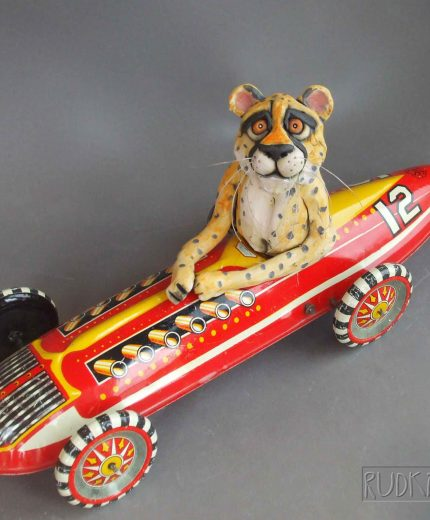 Cheetah in Race Car