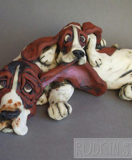 Basset Parent Pup 3