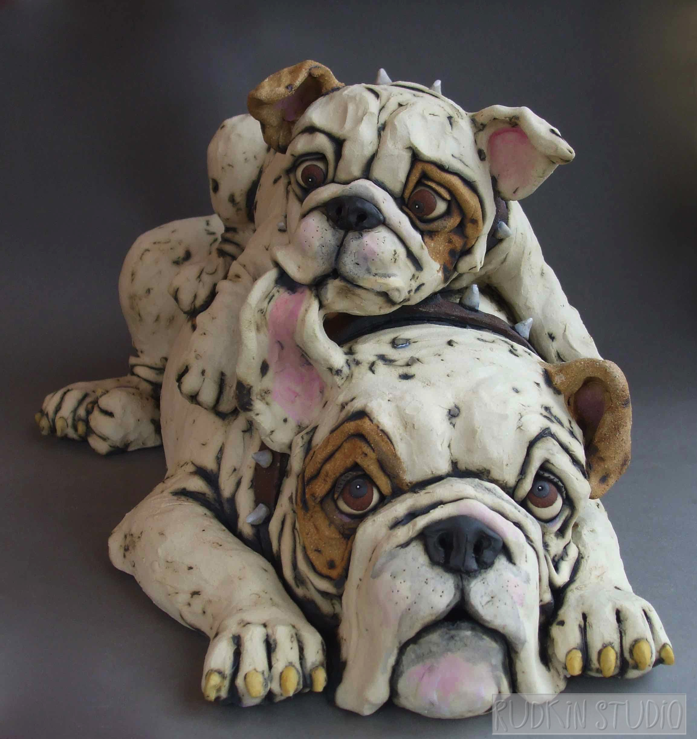Large Bulldogs Finished