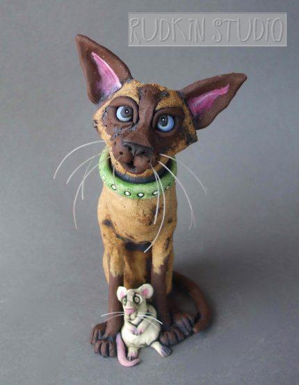 Siamese Cat Mouser