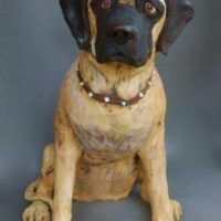 Mastiff Custom Dog Sculpture