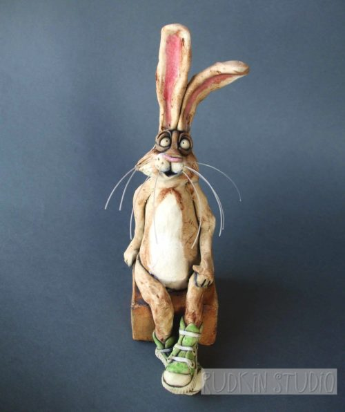 Bunny Rabbit in Chucks