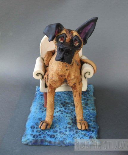 Great Dane Sculpture