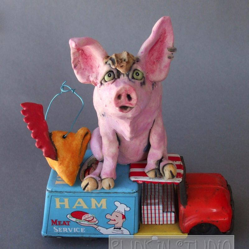 Ceramic Pig Ham Truck Revealed