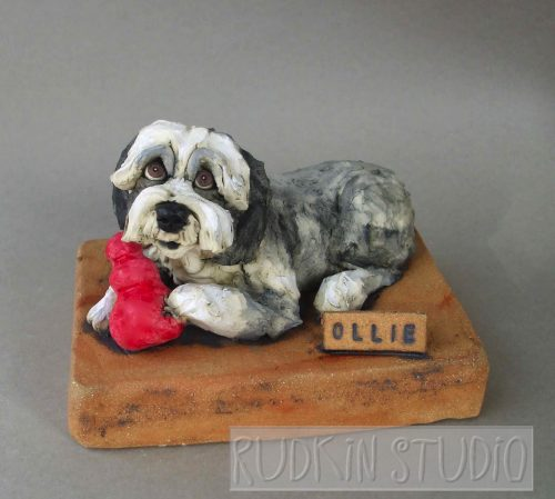 Sheepdog Sculpture