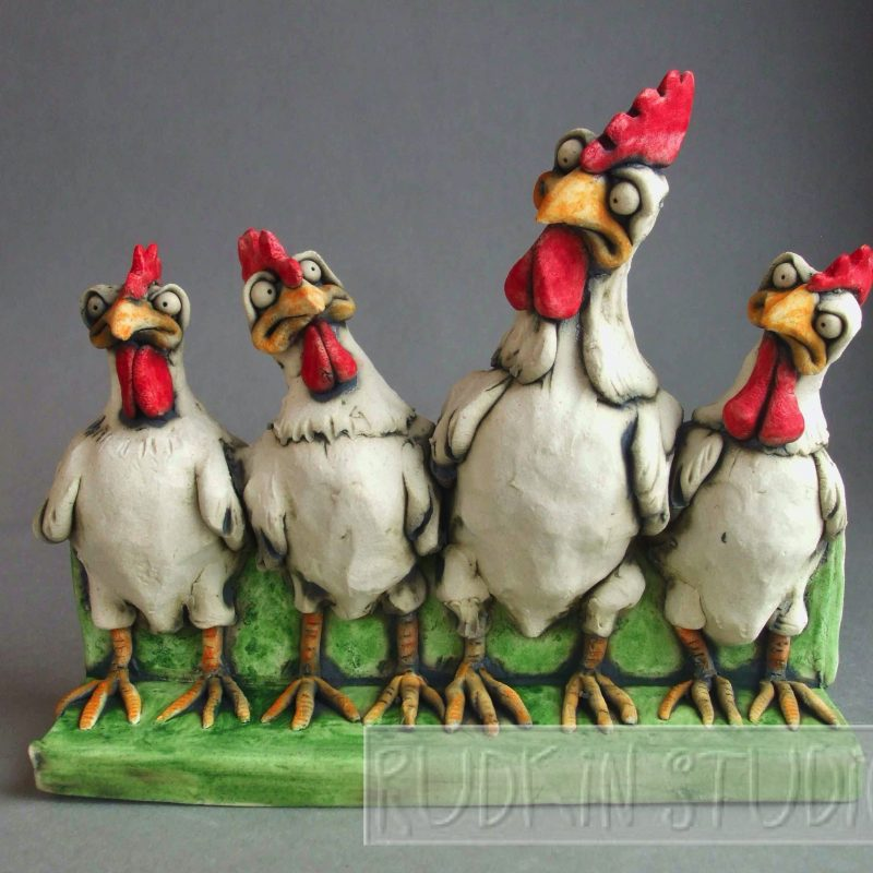 Chicken Sculpture