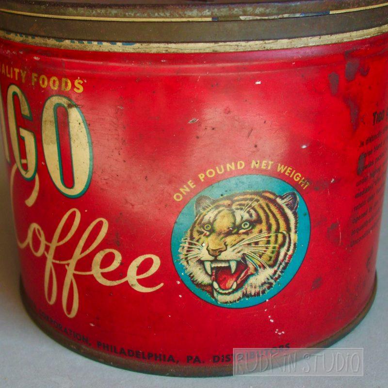 Tiger Coffee Can